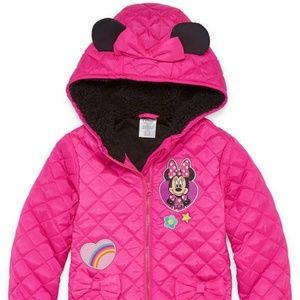 Disney Minnie Mouse Quilted Puffer Jacket